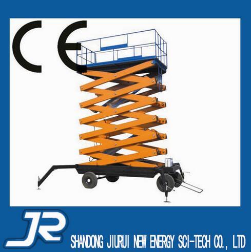 SJY0.3-18 Diesel Powered Mobile Hydraulic Electric Scissor Lift