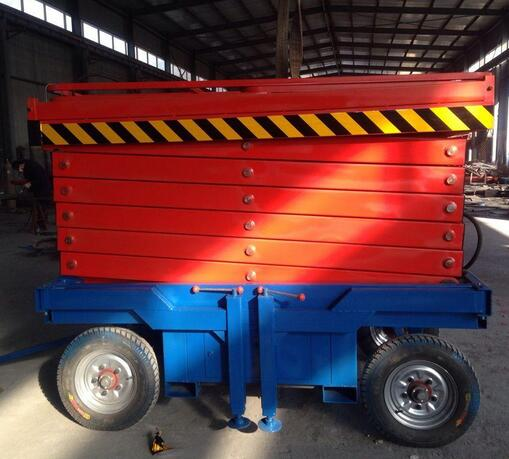 Lightweight Small Hydraulic Lift Home Mobile Scissor Elevator Lift