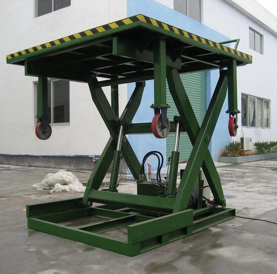 SL-LP01 Series 20t Manual Car Dock Loading Table Lift Platform