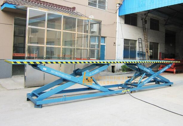 SJG 3-1.5D Series Stationary hydraulic double scissor car lift