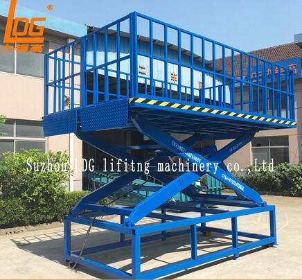 SJG1-1 Series Stationary hydraulic motorcycle scissor lifting table