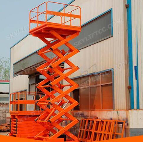 SJG Hydraulic Explosion-Proof Indoor and Outdoor Scissor Cargo Lift