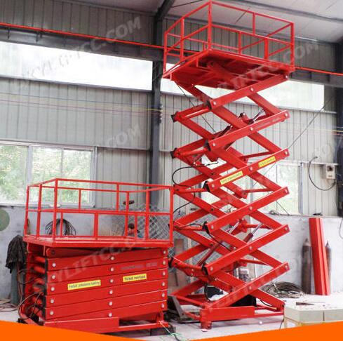 ISO 9001 Explosion-Proof Battery Powered Scissor Lift Platform