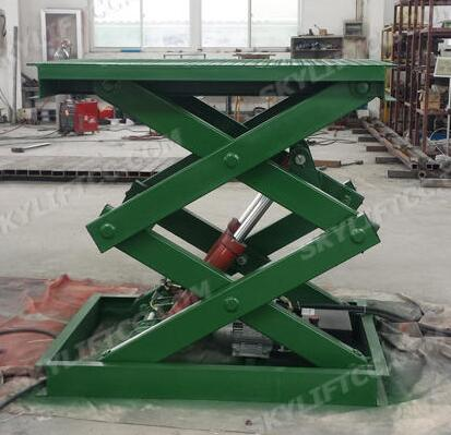 SKYLIFT Weight Level Hydraulic Stationary Mini Scissor Lift Platform