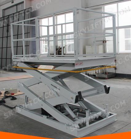 ISO 9001 Hydraulic Explosion-Proof Upright Small Scissor Lift Platform