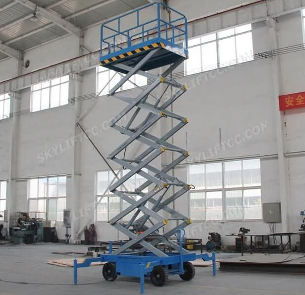 SJY0.3-10 Series 10m Hydraulic Electric Self-Propelled Scissor Lift