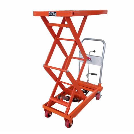 WP350 Series 350 Kgs Manual Small Scissor Hydraulic Lift Table
