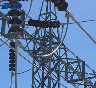 10kv-550kv Transmission Line galvanzied electric substation equipment
