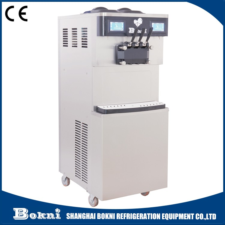 Wholesale automatic self frozen yogurt machine