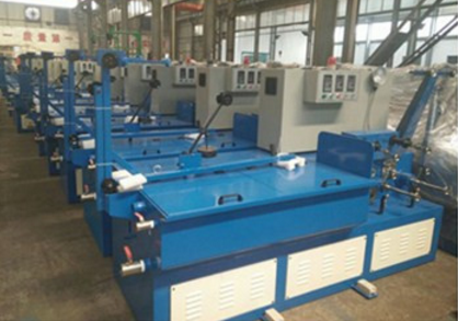 wire drawing machine for cleaning ball