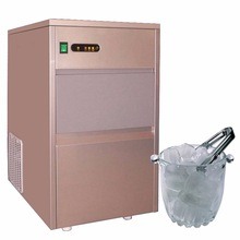 High quality integrated freezer ice maker for bars use
