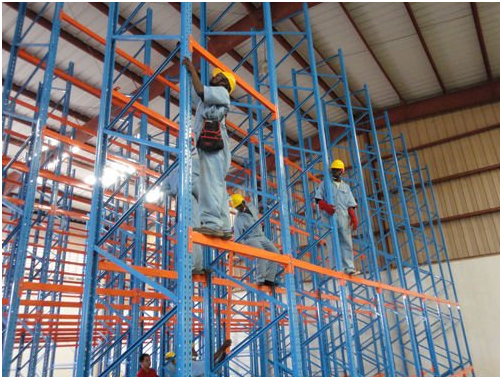high warehouse big heavy duty pallet rack