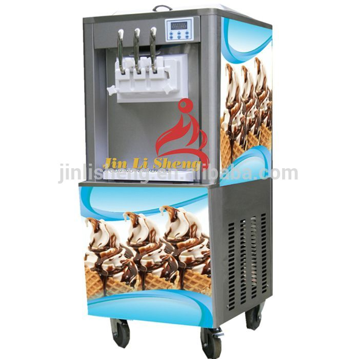 Good price 2+1 Mixed Desktop commercial soft ice cream machine   Free Inspection