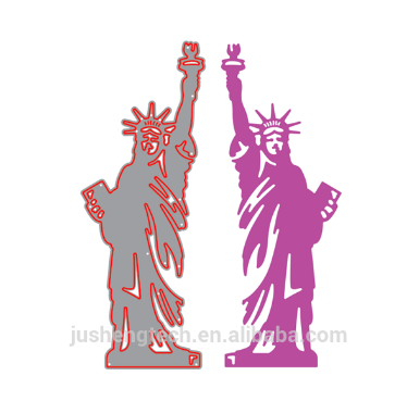 Statue of Liberty Metal Die Cutting Dies Scrapbooking Crafts for Album