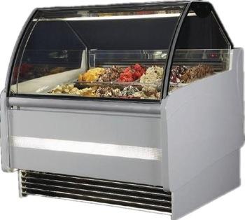 Best price wholesale Commercial Gelato ice cream freezer display