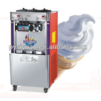 manufacturer electric 4 rainbow flavors high cost effective soft ice cream vending machine made in china
