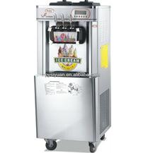 3 flavor floor stand soft ice cream machine
