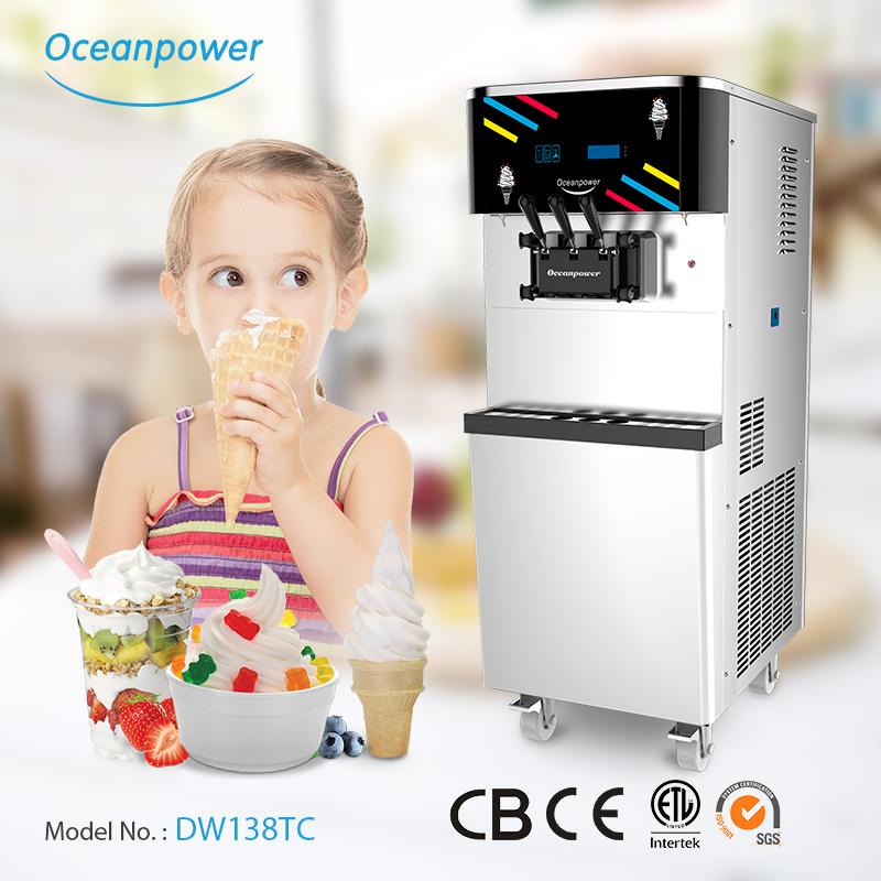 DW138TC yogurt ice cream machine