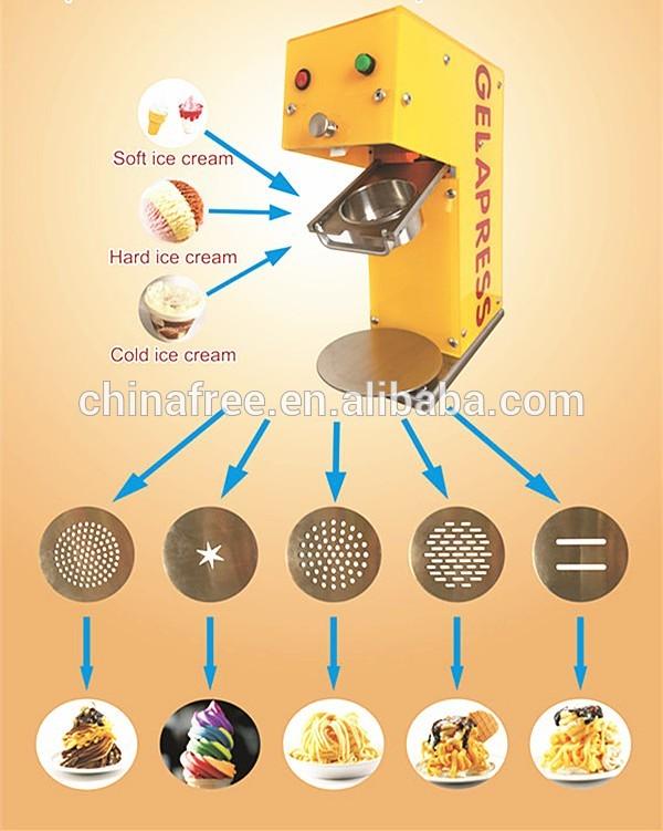 Energy saving vending machine ice cream/ice cream production line