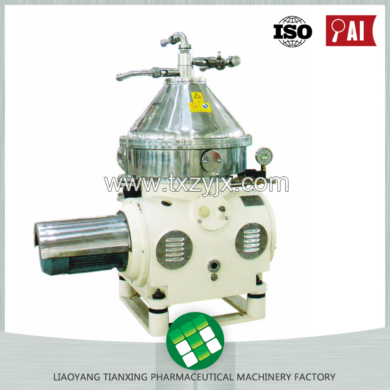 Made In China Factory Directly Provide Skim Milk and Cream Oil Separator