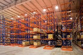 High warehouse storage racking