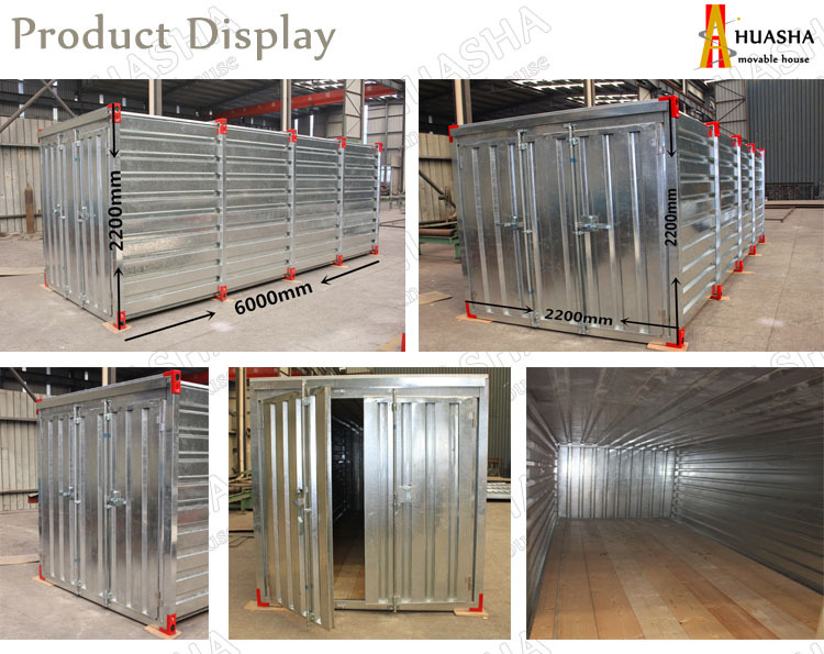 High quality and low cost storage steel container