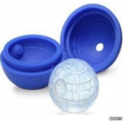Wholesale Death Star Silicone ice ball mold/silicone ice mold