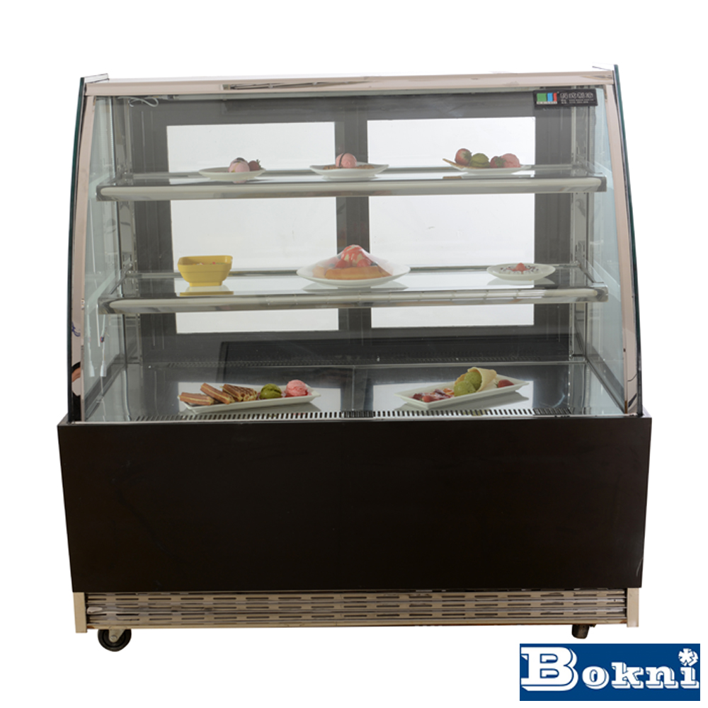 commercial ice cream showcase freezer