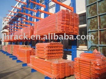 Warehouse storage long raw matel steel cantilever racking