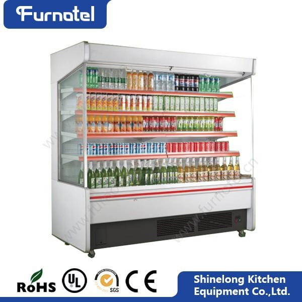 Supermarket Upright Showcase Freezer