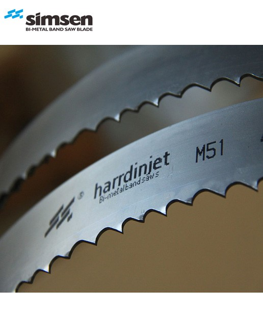 M51 HARRDINJET 0.9*27 mm BAND SAW BLADE FOR MOULD STEEL CUTTING WITH SAMPLE AVALIABLE
