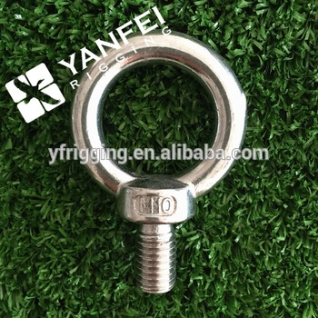 Stainless Steel DIN580 Lifting Eye Bolt