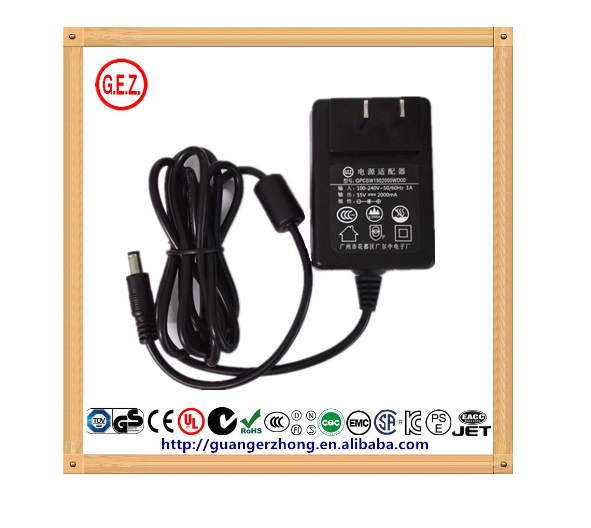 Anti-interference 15v 2a switching power adapter for audio