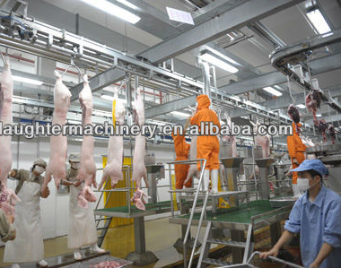 Animal slaughtering equipment