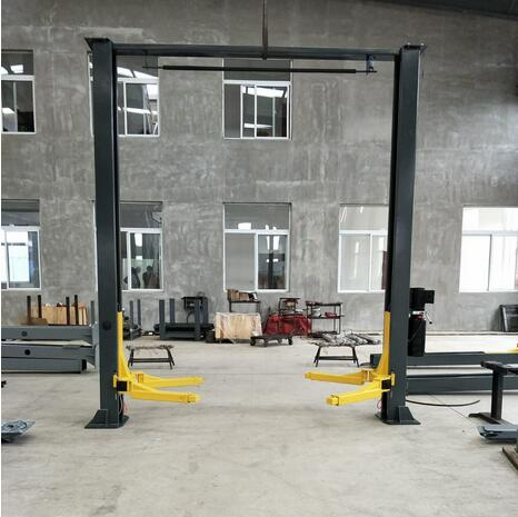 Two Post Car Lift With Asymmetrical Lifting Arms