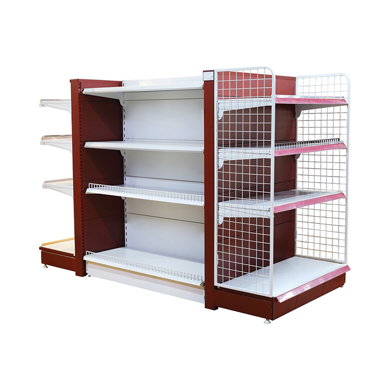 Professional Mannufacturer of Customization advertising CE and ISO Approved Supermarket products storage Display Shelf