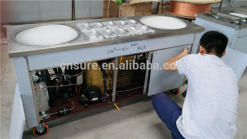 Alibaba china commercial fried ice cream roll machine