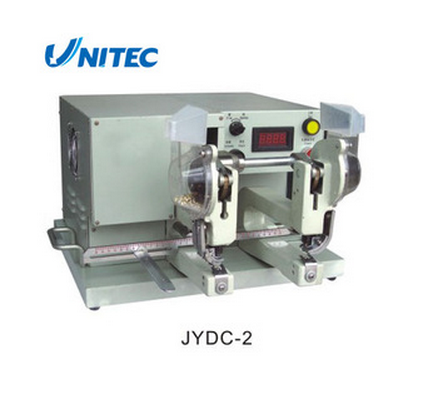 Hot Selling popular hole punching machine JYDC2 Two-Heads Automatic Eyeleting Machine