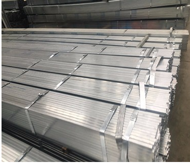 China manufacturer online shop en 10025 galvanized square steel pipe