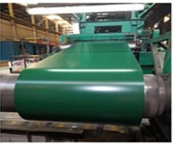 Manufacture Low cost ral9009 color coated galvanized steel coil