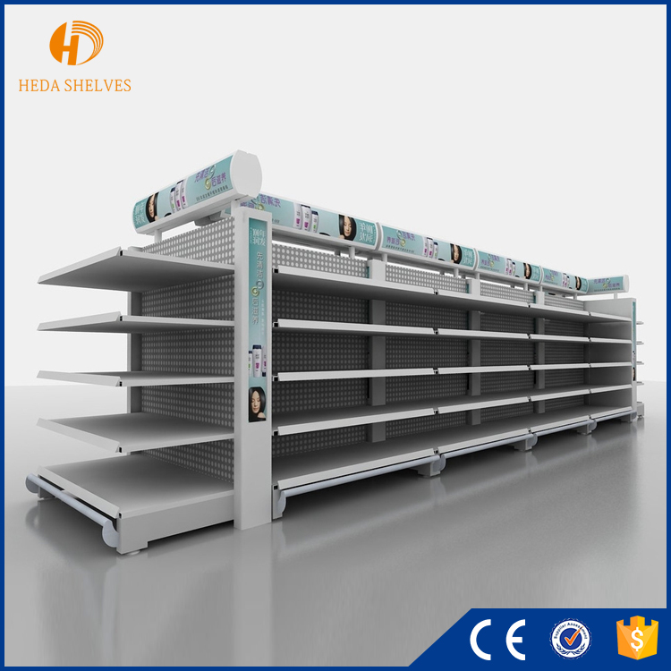 High quality retail units supermarket gondola shelving