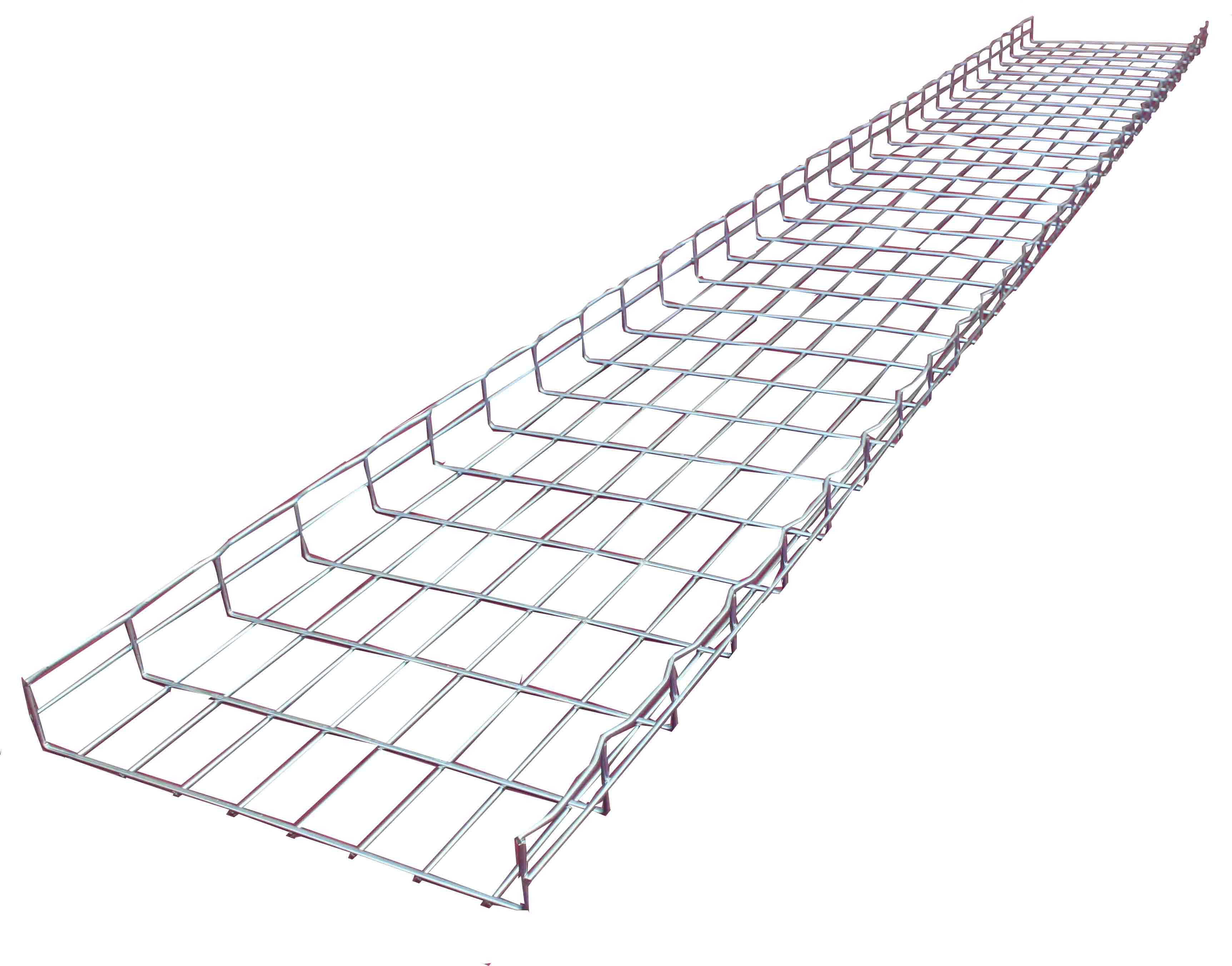 power coating ss304 wire mesh cable tray , flexible cable tray