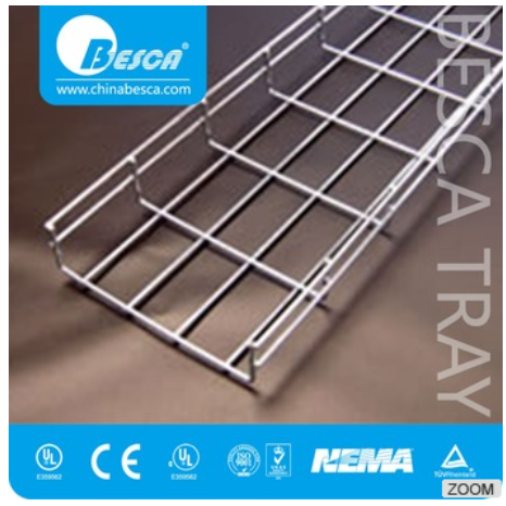 CE 720hrs ss wire mesh cable tray