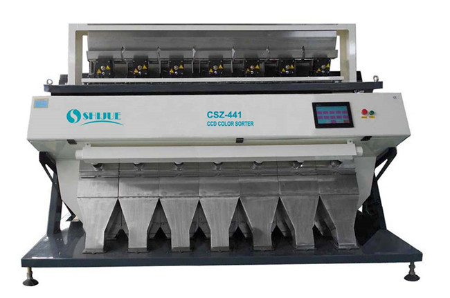 Fast speed penut color sorter machine /cereals sorting machine ,hr4 rice color sorter machine ,ccd grain color sorter from china