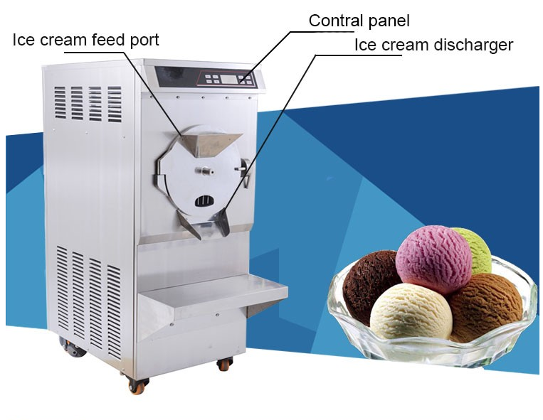 2017 Hard Ice Cream Machine/ Italian Ice Cream Machine
