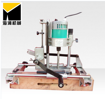 wooden door lock hole mortising machine