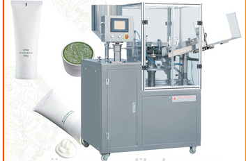 Shea Butter Metallic Soft Tube Sealing and Filling Machine