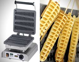 High quality commercial 220v eletric lolly waffle maker
