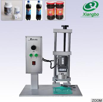 DDX-450 120V 200W Semi automatic spirit bottle capping machine