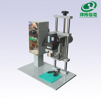 120V Custom allowed semi automatic glass jar capping machine